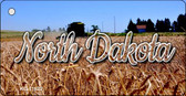 North Dakota Wheat Farm Key Chain KC-11622