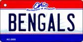 Bengals Ohio State License Plate Key Chain KC-2055