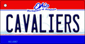 Cavaliers Ohio State License Plate Key Chain KC-2567