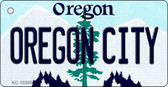 Oregon City Oregon State License Plate Key Chain KC-10350