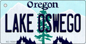 Lake Oswego Oregon State License Plate Key Chain KC-10351