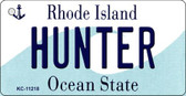 Hunter Rhode Island License Plate Novelty Key Chain KC-11218
