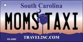 Moms Taxi South Carolina License Plate Key Chain KC-6282
