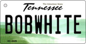 Bobwhite Tennessee License Plate Key Chain KC-6429