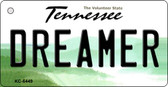 Dreamer Tennessee License Plate Key Chain KC-6449