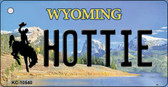 Hottie Wyoming State License Plate Key Chain KC-10540