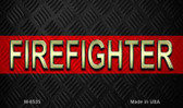 Firefighter Novelty Magnet M-8535