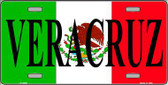 Veracruz Metal Novelty License Plate LP-3439