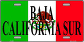 Baja California Sur Metal Novelty License Plate LP-3450