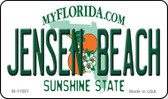 Jensen Beach Florida State License Plate Magnet M-11691