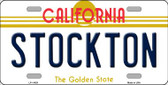 Stockton California Novelty License Plate LP-11429