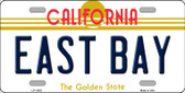 East Bay California Novelty License Plate LP-11433