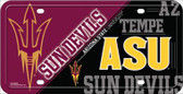 Arizona State Sundevils Deluxe Novelty License Plate LP-5618