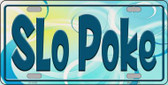 Slo Poke Novelty License Plate LP-11552