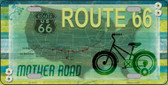Route 66 Mother Road Novelty License Plate LP-11571