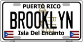 Brooklyn Puerto Rico Novelty License Plate LP-11642
