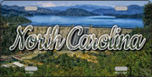 North Carolina Dam State License Plate LP-11621