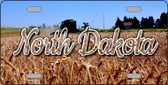 North Dakota Wheat Farm State License Plate LP-11622