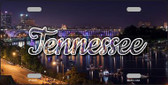 Tennessee Bridge Lights State License Plate LP-11631