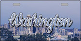 Washington Space Needle State License Plate LP-11637