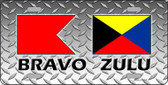 Bravo Zulu Novelty License Plate LP-11645