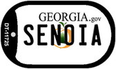 Senoia Georgia State Novelty Dog Tag DT-11725