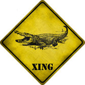 Alligator Xing Novelty Crossing Sign CX-321