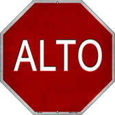 Alto Metal Novelty Stop Sign BS-464