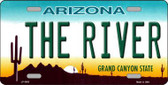 The River Arizona Novelty Metal License Plate