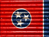 Tennessee Flag Novelty Parking Sign P-2356