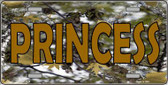 Princess Camouflage Metal Novelty License Plate LP-3939