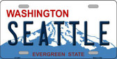 Seattle Washington Novelty Metal Novelty License Plate LP-4205