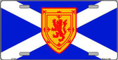 Scotland St Andrews Flag Metal Novelty License Plate LP-522