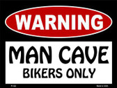 Bikers Only Metal Novelty Parking Sign