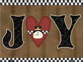 Joy Snowman Metal Novelty Parking Sign P-202