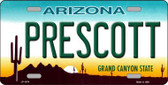 Prescott Arizona Novelty Metal License Plate