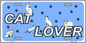 Cat Lover Novelty Metal License Plate LP-1162