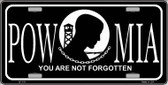 POW-MIA Novelty Metal License Plate