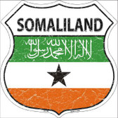 Somaliland Country Flag Highway Shield Metal Sign