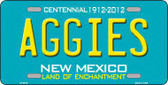 Aggies New Mexico Novelty Metal License Plate LP-6675