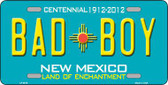 Bad Boy New Mexico Novelty Metal License Plate LP-6679