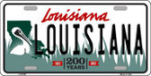 Louisiana Novelty Metal License Plate