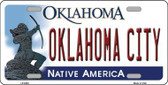 Oklahoma City Oklahoma Novelty Metal License Plate LP-6254