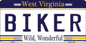 Spoiled West Virginia Novelty Metal License Plate