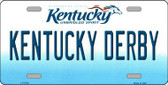Kentucky Derby Kentucky Novelty Metal License Plate