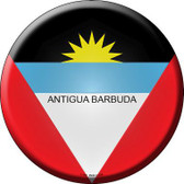 Antigua Barbuda Country Novelty Metal Circular Sign