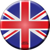 United Kingdom Country Novelty Metal Circular Sign