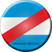 Uruguay Artigas Country Novelty Metal Circular Sign