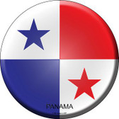 Panama Country Novelty Metal Circular Sign