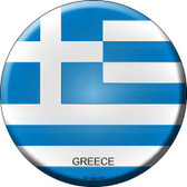 Greece Country Novelty Metal Circular Sign